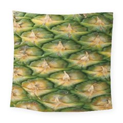 Pineapple Pattern Square Tapestry (large) by Nexatart