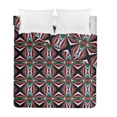 Plot Texture Background Stamping Duvet Cover Double Side (full/ Double Size) by Nexatart
