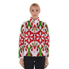 Red And Green Snowflake Winterwear by Nexatart