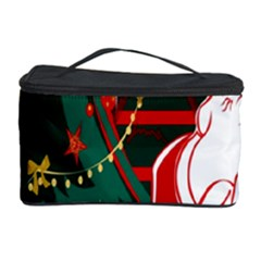 Santa Clause Xmas Cosmetic Storage Case by Nexatart