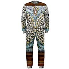 Stained Glass Window Library Of Congress Onepiece Jumpsuit (men)  by Nexatart