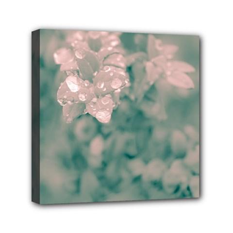 Surreal Floral Mini Canvas 6  X 6  by dflcprints
