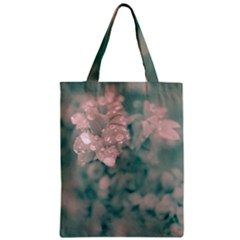 Surreal Floral Zipper Classic Tote Bag by dflcprints
