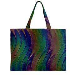 Texture Abstract Background Zipper Mini Tote Bag by Nexatart