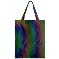 Texture Abstract Background Zipper Classic Tote Bag by Nexatart