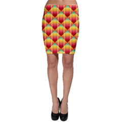 The Colors Of Summer Bodycon Skirt by Nexatart