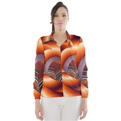 The Touch Digital Art Wind Breaker (women)