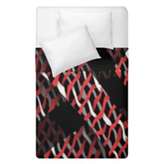 Weave And Knit Pattern Seamless Duvet Cover Double Side (single Size) by Nexatart