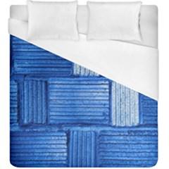 Wall Tile Design Texture Pattern Duvet Cover (King Size) by Nexatart