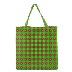 Wrapping Paper Christmas Paper Grocery Tote Bag by Nexatart