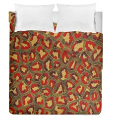 Stylized Background For Scrapbooking Or Other Duvet Cover Double Side (Queen Size) by Nexatart