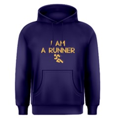 I Am A Runner   Men s Pullover Hoodie by FunnySaying