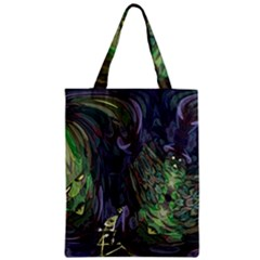 Backdrop Background Abstract Zipper Classic Tote Bag by Amaryn4rt