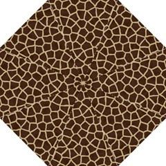 Giraffe Animal Print Skin Fur Golf Umbrellas by Amaryn4rt