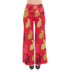 Hare Easter Pattern Animals Pants by Amaryn4rt