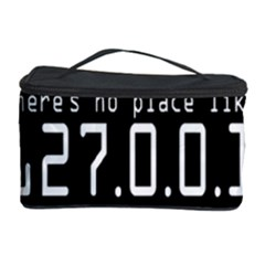 There s No Place Like Number Sign Cosmetic Storage Case by Alisyart