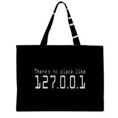 There s No Place Like Number Sign Medium Tote Bag by Alisyart