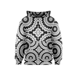 Pattern Tile Seamless Design Kids  Pullover Hoodie