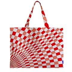 Graphics Pattern Design Abstract Zipper Mini Tote Bag