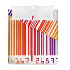Code Data Digital Register Duvet Cover Double Side (full/ Double Size) by Amaryn4rt