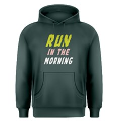 Run In The Morning   Men s Pullover Hoodie by FunnySaying