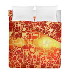 Board Conductors Circuit Duvet Cover Double Side (Full/ Double Size) by Amaryn4rt
