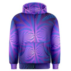 Background Brush Particles Wave Men s Zipper Hoodie by Amaryn4rt