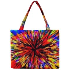 Color Batik Explosion Colorful Mini Tote Bag by Amaryn4rt