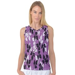 Floral Pattern Background Women s Basketball Tank Top