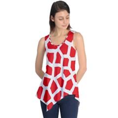 Animal Animalistic Pattern Sleeveless Tunic