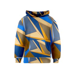 Abstract Background Pattern Kids  Pullover Hoodie by Amaryn4rt