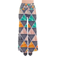 Abstract Geometric Triangle Shape Pants by Amaryn4rt