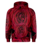 Roses Flowers Red Forest Bloom Men s Pullover Hoodie
