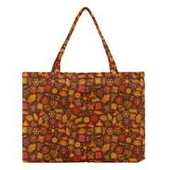 Pattern Background Ethnic Tribal Medium Tote Bag by Amaryn4rt