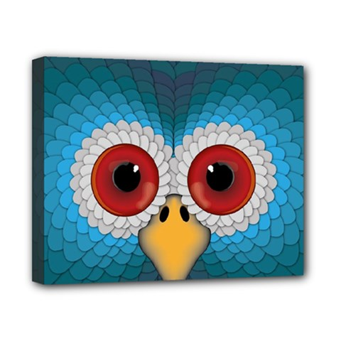 Bird Eyes Abstract Canvas 10  X 8  by Amaryn4rt