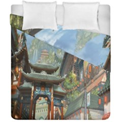 Japanese Art Painting Fantasy Duvet Cover Double Side (california King Size)