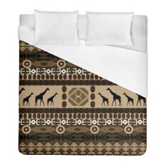 African Vector Patterns  Duvet Cover (full/ Double Size) by Amaryn4rt