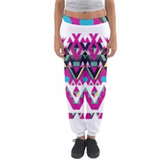 Geometric Play Women s Jogger Sweatpants by Amaryn4rt