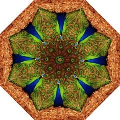 3d Peacock Bird Straight Umbrellas by Amaryn4rt