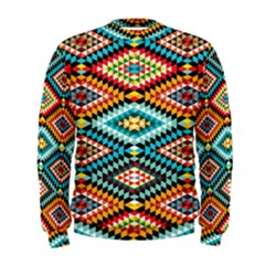 African Tribal Patterns Men s Sweatshirt