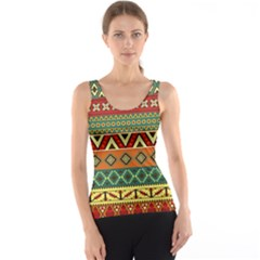 Mexican Folk Art Patterns Tank Top by Amaryn4rt