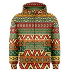Mexican Folk Art Patterns Men s Zipper Hoodie by Amaryn4rt