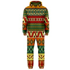 Mexican Folk Art Patterns Hooded Jumpsuit (men)  by Amaryn4rt