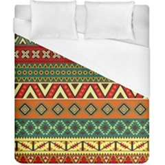 Mexican Folk Art Patterns Duvet Cover (california King Size) by Amaryn4rt