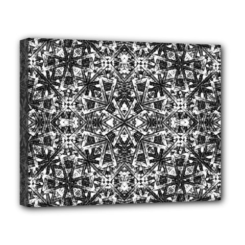 Modern Oriental Pattern Deluxe Canvas 20  X 16   by dflcprints