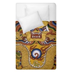Chinese Dragon Pattern Duvet Cover Double Side (single Size)