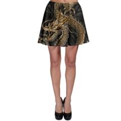 Dragon Pentagram Skater Skirt
