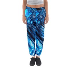 Blue Wave Women s Jogger Sweatpants by Alisyart