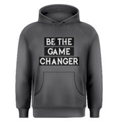 Be The Game Changer   Men s Pullover Hoodie by FunnySaying