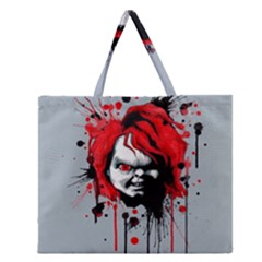 Good Guys Zipper Large Tote Bag by lvbart